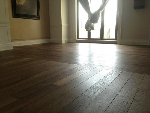 Caliber hardwood floors inc pre finished vs site for Hardwood flooring prefinished vs unfinished